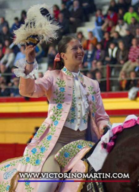 Foto del torero Ana Rita