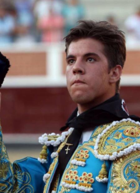 "Foto del torero Alvaro García ""Alvarito"""