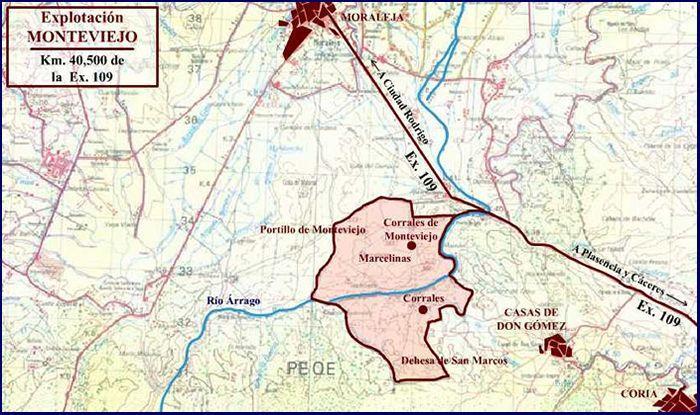 Mapa de Explotación Monteviejo