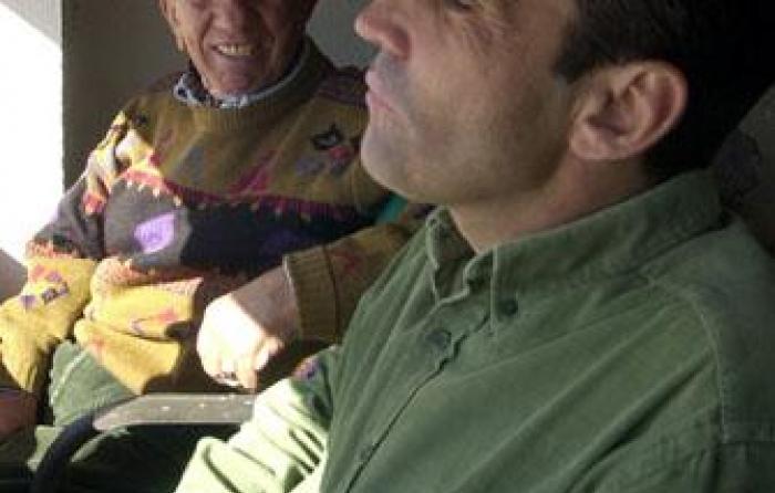 en el palco de Monteviejo, 2005